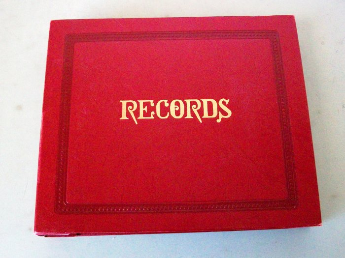 Lot Of 10 - Nat King Cole Records in a 45 rpm Album Set - Very Nice