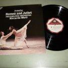 Prokofiev Romeo And Juliet - Riccardo Muti Ballet Record LP