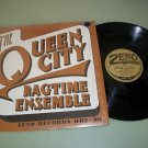 The Queen City Ragtime Ensemble Jazz Band Record LP