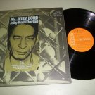 Jelly Roll Morton Mr. Jelly Lord Jazz Record LP