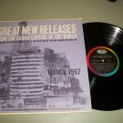 Capitol Great New Releases - Sinatra - 1962 PROMO Record LP