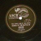 Josh White - Joshua Fit The Battle Jericho - ASCH 358