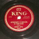 Cowboy Copas - Signed Sealed And Delivered - KING 658  - 78 rpm