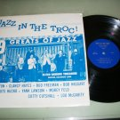 Jazz At The Troc - Elitch Gardens Trocadero - Great Jazz LP  RARE