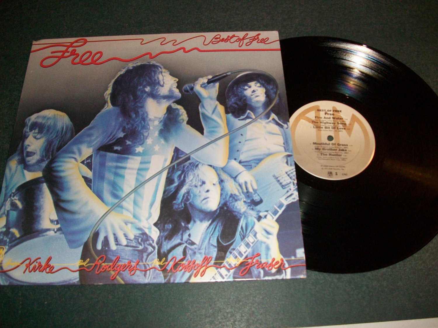 Best Of Free - A&M 3663 - Record LP