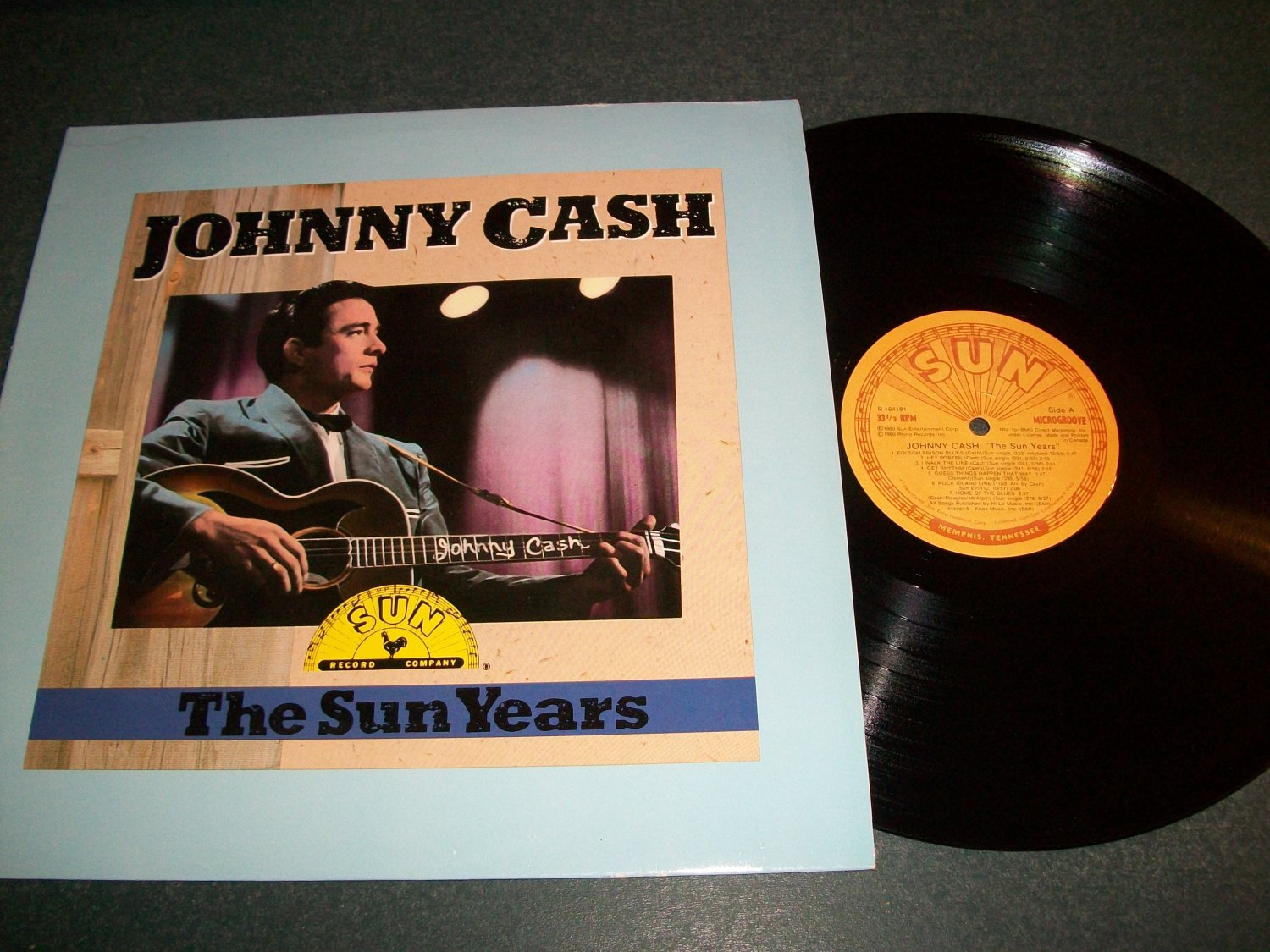 Johnny Cash - The Sun Years - Record LP