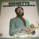Ornette - The Ornette Coleman Quartet  - Factory Sealed Record LP