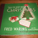 Fred Waring - Twas The Night Before Christmas - DECCA 550  - 4 Record Album Set  78 rpm