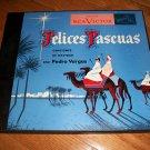 Pedro Vargas - Felices Pascuas  - XMAS - RCA  S-58 - 3 Record Album Set  78 rpm