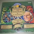 An Evening With Arthur Fiedler & Boston Pops & Christmas Songs -  SEALED   Record LP