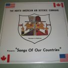 The North American Air Defense Command  NORAD - Songs Of Our Country -  SEALED   Record LP