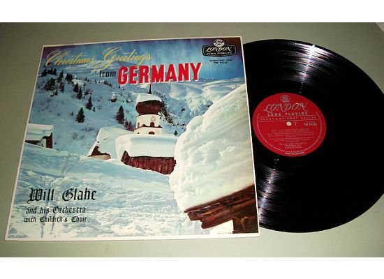 Christmas Greetings From Germany - Will Glahe Children's Choir - Record LP