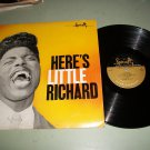 Here's Litttle Richard - SPECIALTY 2100 - Rock  Record LP