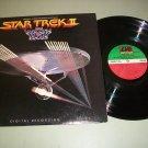 Star Trek 2   The Wrath Of Khan -  Digital Original Soundtrack -  Record LP
