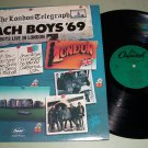 The Beach Boys - Live In London '69 - Capitol SN-16134 - Record LP