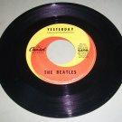 The Beatles - Yesterday / Act Naturally - CAPITOL 5498 - 45 rpm Record