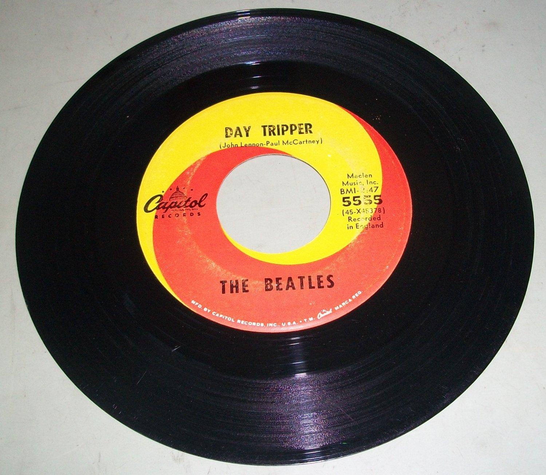 the beatles day tripper we Música - discos de vinilo - eps - pop - rock extranjero de los 50 y 60 : the beatles ep emi 1966 day tripper/ we can work it out/ i'm down/ act naturally  compra, venta y subastas de pop - rock extranjero de los 50 y 60 en todocoleccion lote 107476631.