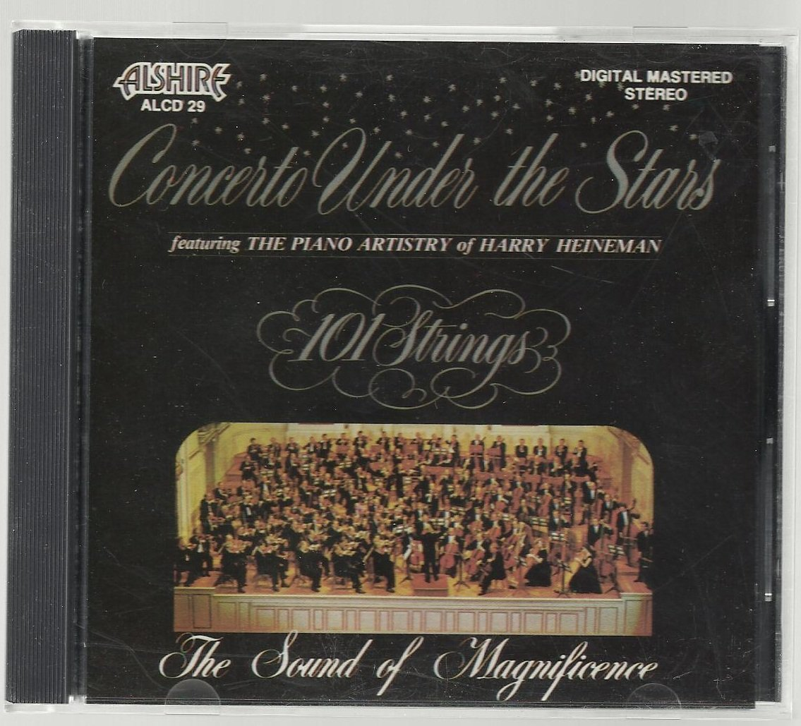 101 Strings - Concerto Under The Stars - Classical CD
