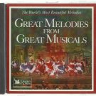Great Melodies From Great Musicals  -  Various Artist  CD