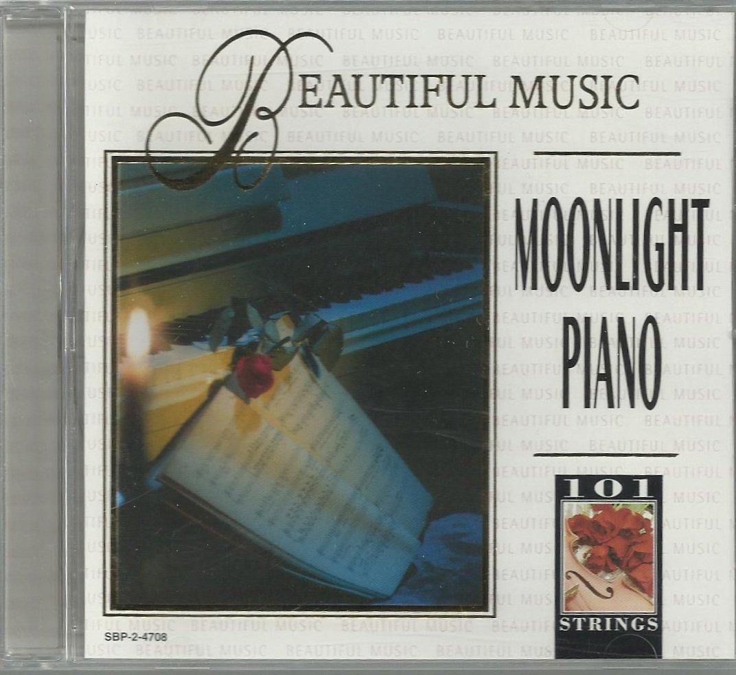 101 Strings - Beautiful Music Moonlight Piano  - CD