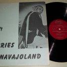 Ed Lee Natay - Memories Of Navajoland - CANYON 6057 - Native American -  Record LP