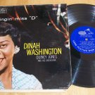 Dinah Washington - The Swingin' Miss D - EMARCY MG 36104  - Record LP - Record LP