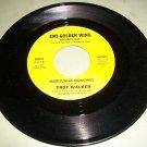 Troy Walker - Marijuana Munchies / It's Not The End - EMI 4625937 Recprd