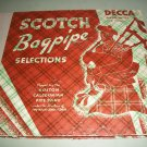 Boston Caledonian Pipe Band - Scotch Bagpipe Selections - DECCA 175 - 3 Record Album Set  78 rpm