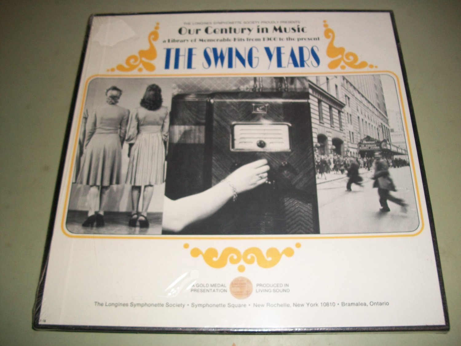 The Swing Years Vol. 18 - The Longines Symphonette Society  - 3 LP Box Set - Factory Sealed