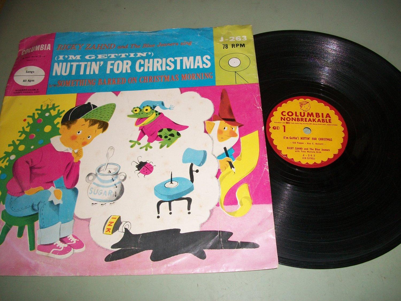 Ricky Zahnd - I\'m Gettin\' Nuttin\' For Christmas - COLUMBIA 263 - 78 ...