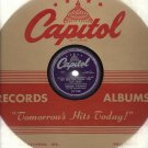 Chuck Thomas - My Gee Gee From The Fiji Isles - CAPITOL 746 - 78 rpm