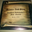 Southern Ambassadors Male Quartet - Rejoice And Sing - CENTURY 34054 - SEALED   Record LP