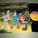 The Wizard Of Oz - Disneyland 3957 - Story And Songs w/ Illustrated Book -  LP