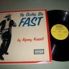 Nipsey Russell - Ya Gotta Be Fast - HUMORSONIC 707 - Comedy Record LP
