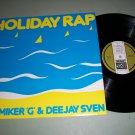 "M.C. Miker 'G' & Dee Jay Sven - Holiday Rap - DEBUT 3008 - 12""  Rap 45 rpm"