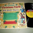 Dickens  Christmas Carol - Walt Disney Mickey Mouse - DISNEYLAND 3811 -  Holiday Record w/ Booklet