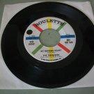 The Teenagers w/ Frankie Lymon - My Broken Heart / Mama Wanna Rock - ROULETTE 4086  R&B Soul   45