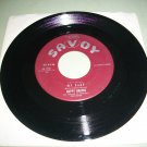Nappy Brown - It Don't Hurt No More / My Baby - SAVOY 1551 Rock Record
