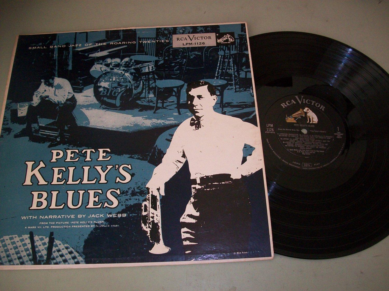 Jack Webb - Pete Kelly's Blues - RCA 1126 - Jazz Record LP