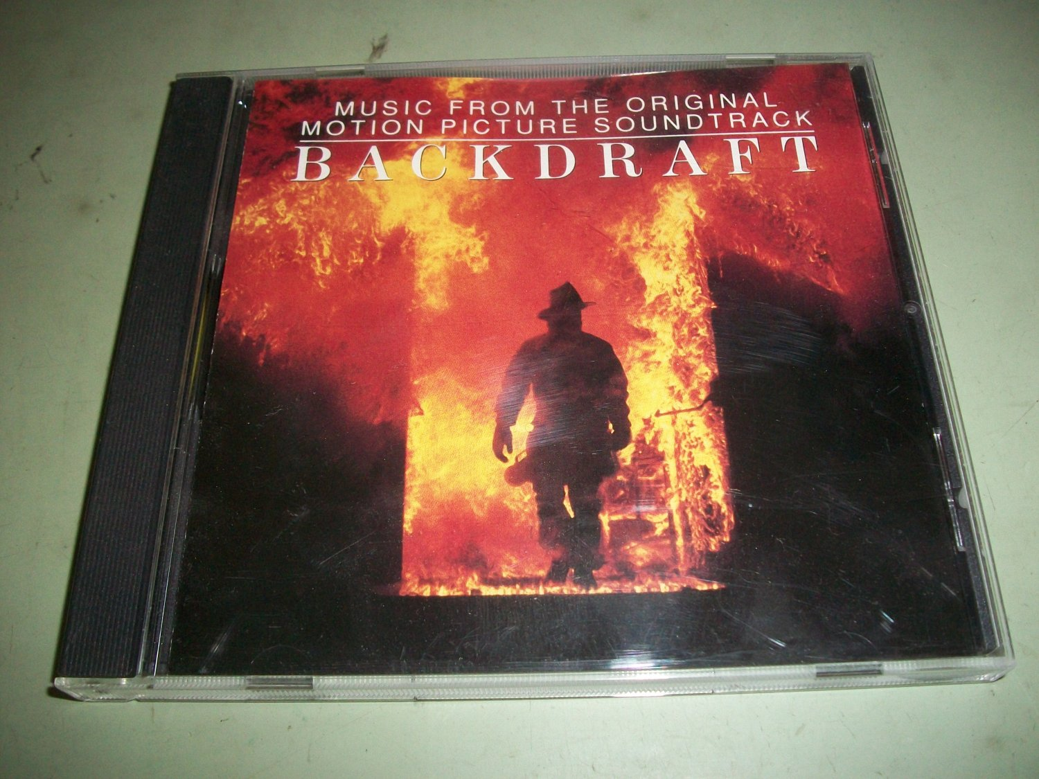 Backdraft - Hans Zimmer - Original Soundtrack CD