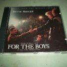 For The Boys - Bette Midler  - Original Soundtrack  CD