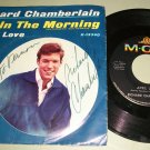 Richard Chamberlain - April Love - MGM 13340 Signed  Autograph Record