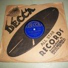 """Freddie """"Schnickelfritz"""" Fisher - Wild Wild Women / Colonel Corn - DECCA 1771 - Jazz 78 rpm"""