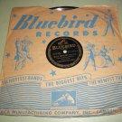 Teddy Powell - Blue Danube / A Rendezvous In Rio - BLUEBIRD 11132 - Jazz 78 rpm