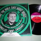 Jimmy Swaggart - What The Bible Says About Drugs - Sermon - Christian Record LP