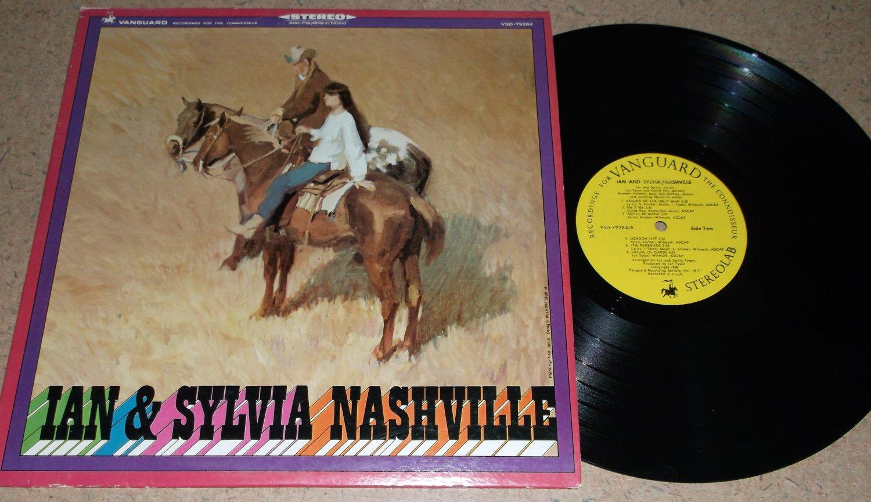 Ian & Sylvia - Nashville - VANGUARD 79284 - Folk LP