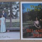 Bill And Linda Bristow  The Singing Bristols - 2 Factory Sealed Gospel Records