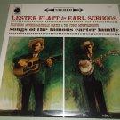 Lester Flatt & Earl Scruggs - Songs Of The Carter Family - COLUMBIA 12363 - Bluegrass SEALED LP