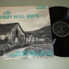 The Foot Hill Boys - Bluegrass In The Carolina Mountains - COUNTY 731