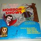 The Great Radio Horror Shows - Frankenstein Dracula & More - 3 Old Time Radio Records LP